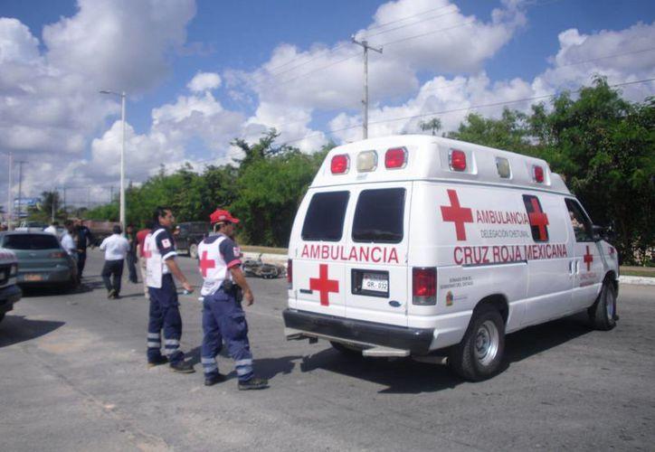 La incidencia de llamadas falsas a la Cruz Roja Mexicana delegación Chetumal disminuyó. (Ángel Castilla/SIPSE)
