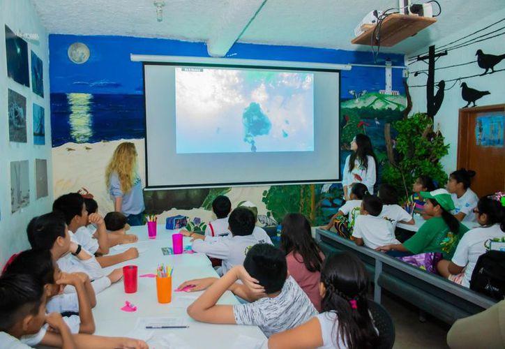 El formato del libro tiene el objetivo que los participantes, a través de actividades lúdicas, realicen un recorrido literario sobre la isla. (Redacción)