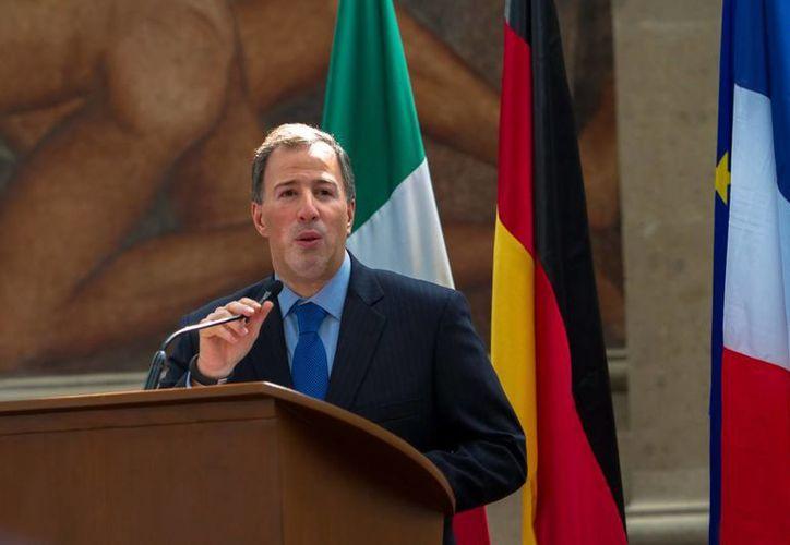 El canciller Mexicano Juan Antonio Meade. (Agencias)