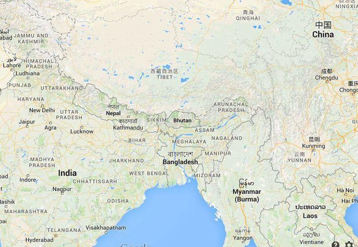La localidad más afectada por el ciclón fue el distrito de Bogra, a unos 170 kilómetros al noroeste de Dacca, la capital de Bangladesh. (Foto: Google Maps)