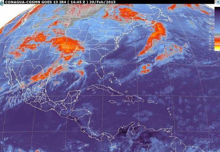 Soplarán vientos del este y sureste de 20 a 40 km/h con rachas. (smn.cna.gob.mx)