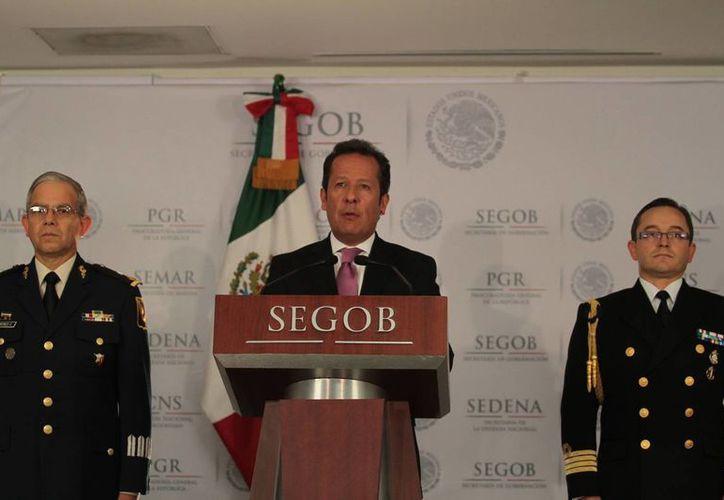 Hasta el momento no existe orden de extradición por parte de EU: vocero del Gabinete de Seguridad. (Notimex)