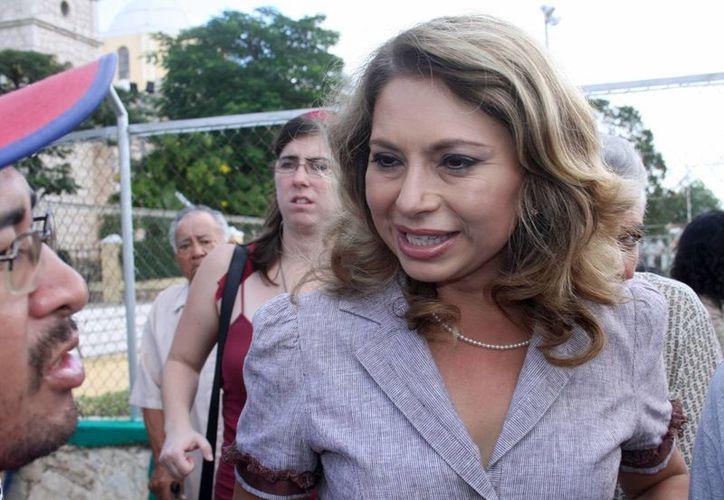 """Este 27 de enero la FGE informó al Ayuntamiento de Mérida que no procede el juicio de revisión del expediente, """"porque no hay elementos para fincar acción penal"""" contra la ex alcaldesa Angélica Araujo. (SIPSE)"""