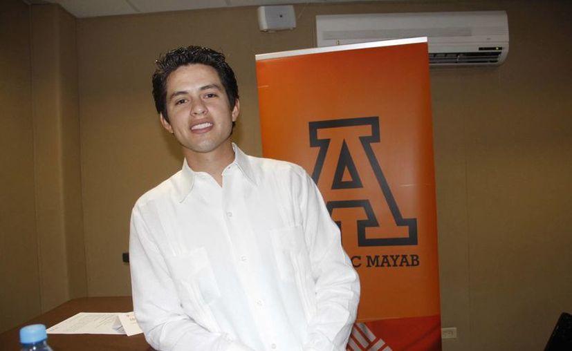 El regidor  Luis Joaquín Castillo López es el único representante del sureste que acudirá al evento. (Juan Carlos Albornoz/SIPSE)