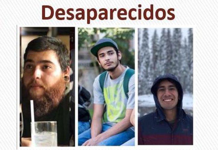 Tres estudiantes de cine fueron privados de su libertad. (@PorAmorAEllxs)