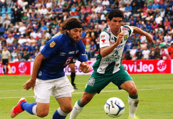 El sábado 23 el Cruz Azul (i) se enfrentará al Toluca y el León (d) al Morelia. (Notimex/Foto de archivo)