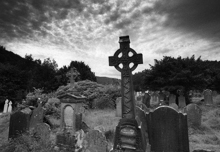 """Este cementerio es único en el mundo, pues entierran solo a las víctimas de """"la procesión de las ánimas. (Jorge Moreno/SIPSE)"""