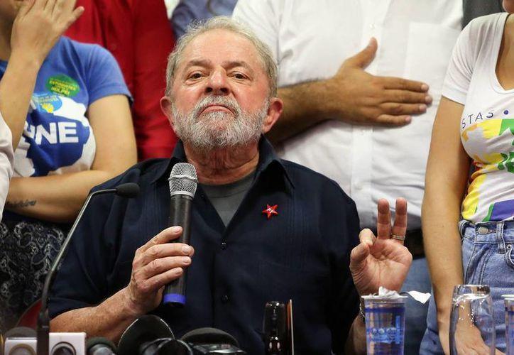 Luiz Inácio Lula da Silva, expresidente de Brasil, asegura que no hay pruebas de corrupción en su contra. (EFE)