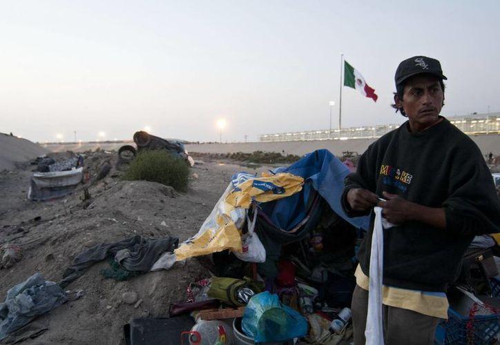 Los migrantes se convierten en víctimas de tráfico y trata de personas. (Archivo/Notimex)