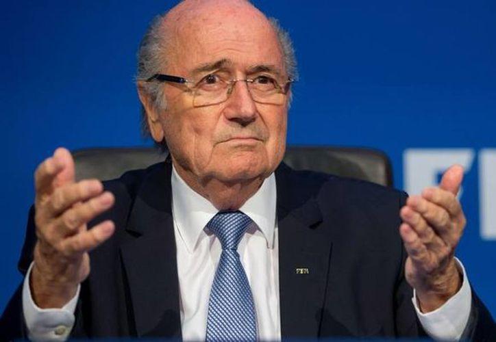 El expresidente de la FIFA, Joseph Blatter prefiere a Marruecos como anfitrión de la Copa del Mundo del 2026. (Contexto/Internet)