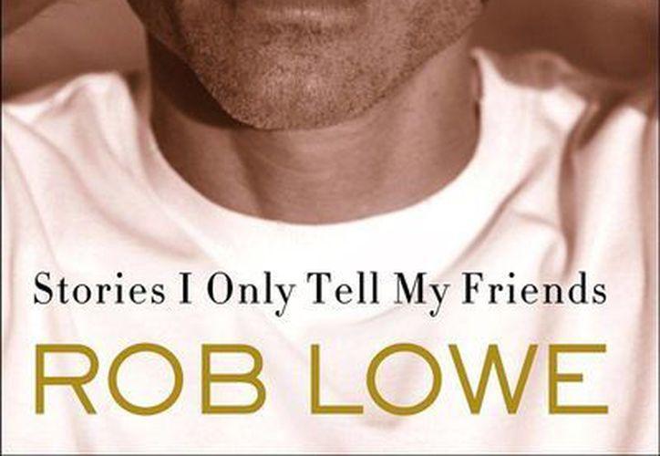 """El actor  Rob Lowe presentó su nueva biografía  """"Stories I Only Tell My Friends"""" (Historias que sólo le cuento a mis amigos). (Internet)"""