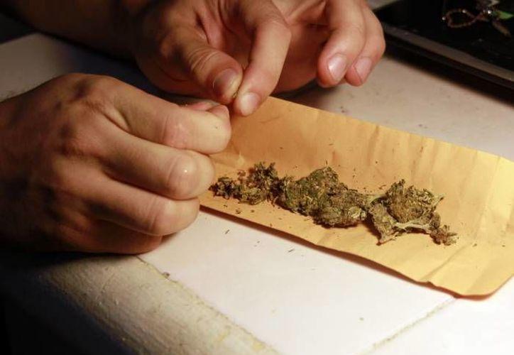 La madre no tiene el apoyo del padre, ya que contó que esta persona también se encuentra sumergida en la marihuana. (Luis Soto/SIPSE)