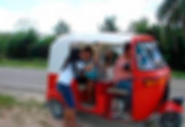 Mototaxista que asaltaba a sus clientes, en Mulchechén, fue detenido gracias a un cliente que se resistió al asalto, y avisó a la policía. (SIPSE)