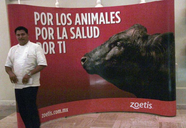 Las actividades fueron organizadas por el laboratorio Zoetis, con la finalidad de informar a los ganaderos sobre los avances en el tema. (Tomás Álvarez/SIPSE)