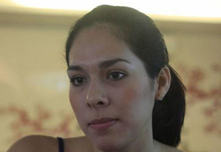 Almendra Espino Landeros, representante de Quintana Roo en el certamen nacional de Nuestra Belleza México 2007. (Harold Alcocer/SIPSE)