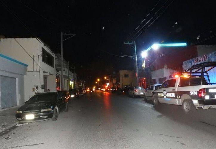 El bar que fue atacado con arma de fuego se ubica en la Región 92. (Eric Galindo/SIPSE)