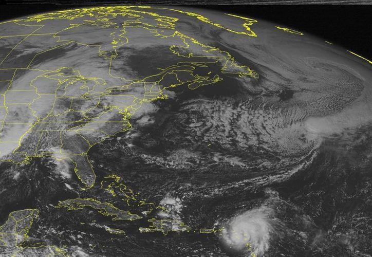 Un sistema de tormentas impacta en algunos estados de la Costa Este de los Estados Unidos. (AP)