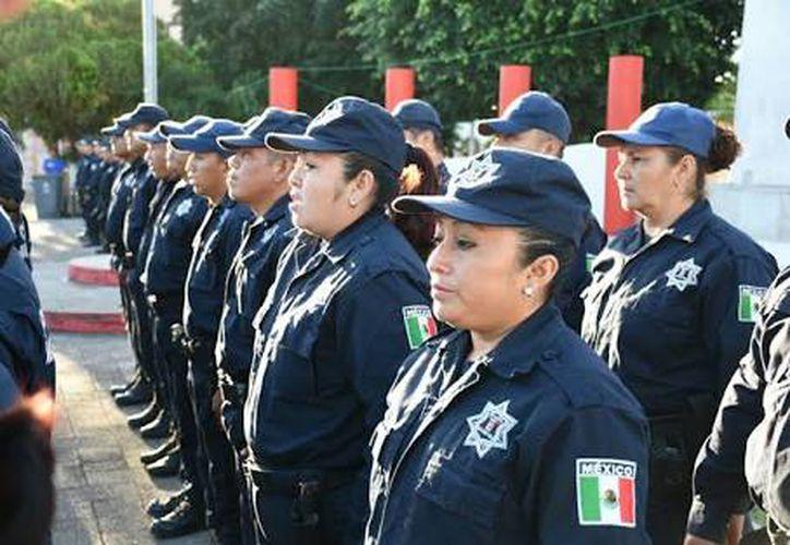 Lista la policía municipal en Felipe Carrillo Puerto para vigilar las elecciones en el municipio. (SIPSE)