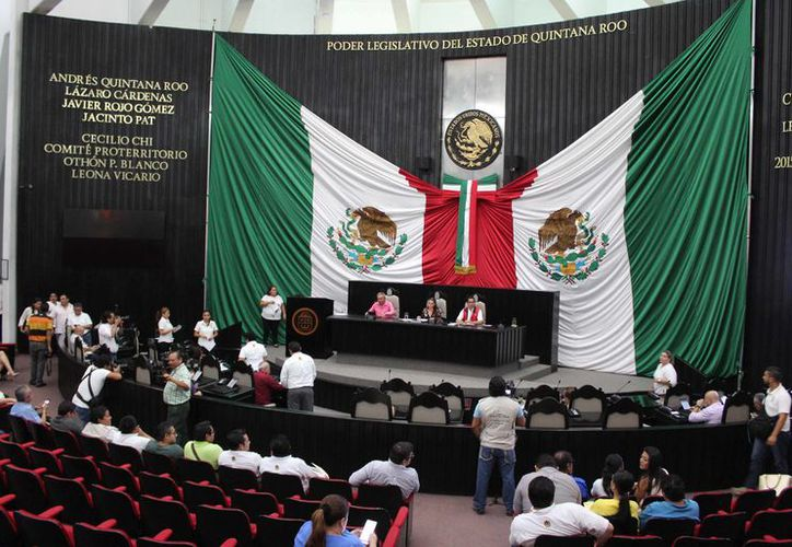 Los legisladores también aprobaron el acuerdo para declarar a Zona de Monumento Históricos a Tihosuco, Felipe Carrillo Puerto. (Joel Zamora/SIPSE)