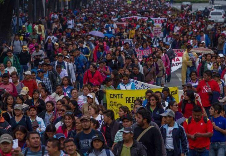 Oaxaca es uno de los estados donde las protestas magisteriales han sido más intensas. (Notimex/Foto de archivo)