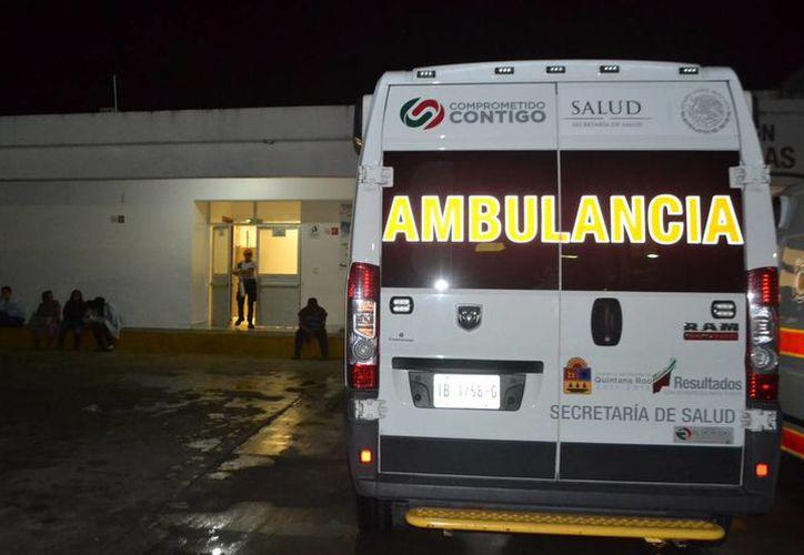 El menor fue trasladado al Hospital General donde le aplicaron técnicas de resucitación por más de siete minutos, pero el menor ya no reaccionó. (Ángel Castilla/SIPSE)
