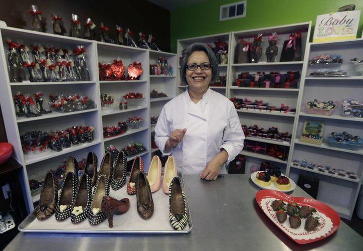 La exitosa mexicana triunfa en el mercado Anglosajón con sus dulces creaciones. (Agencias)