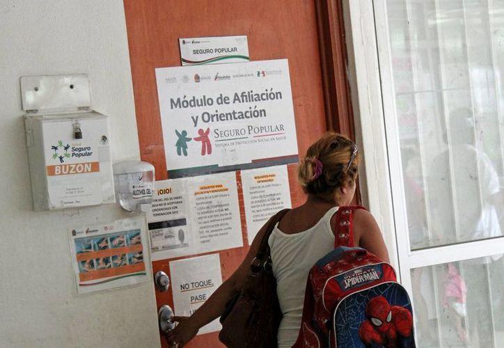 En el municipio de Benito Juárez existen cuatro módulos de afiliación. (Jesús Tijerina/SIPSE)
