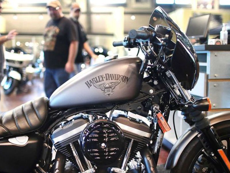 The president has held up the motorcycle maker as an example of a U.S. business harmed by trade barriers in other countries.