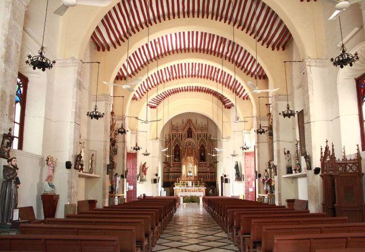 La iglesia de San Juan formó parte de los barrios de la Colonia que marcaban los límites de residencia de los españoles del resto de la población. (José Acosta/Milenio Novedades)