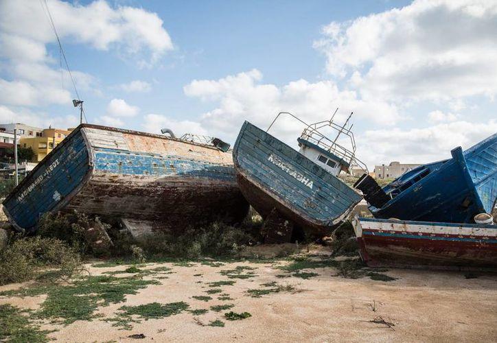 Fotos de contexto. Dos nuevos naufragios ocurrieron en las costas turcas, con saldo de 38 inmigrantes fallecidos (Archivo Notimex)..
