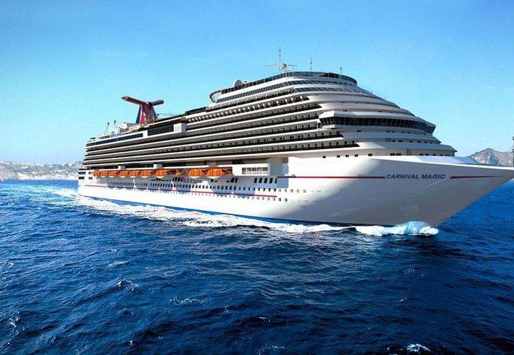 La pasajera del crucero Carnival Magic se ha mantenido aislada a petición suya. (Foto de contexto/Internet)