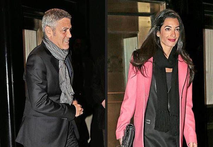 Clooney está por casarse con Amal Alamuddin, una periodista libanesa. (people.com)