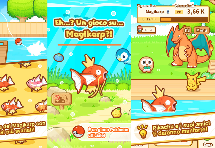 Usuarios de iOS y Android puedan disfrutar de una divertida aventura con 'Magikarp Jump'. (Foto: Contexto/Internet)
