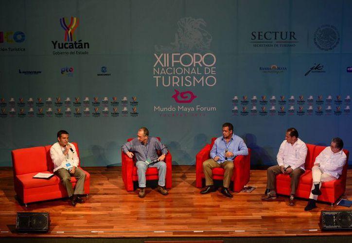 Actividades del XII Foro Nacional de Turismo Mundo Maya. (Claudia Olavarría/SIPSE)