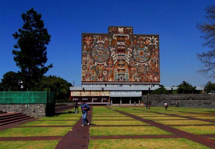 El campus central de Ciudad Universitaria cumplió el domingo 10 años de haber sido nombrada Patrimonio Mundial. (Notimex)