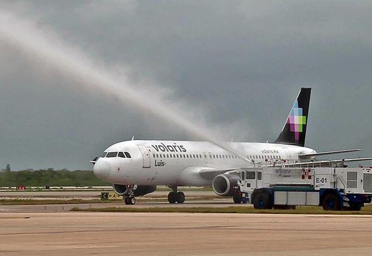 Volaris  tendrá presencia en Yucatán con una flotilla de aeronaves Airbus, modelo A 319 y 320. (Foto: Cortesía Noe Castillo)