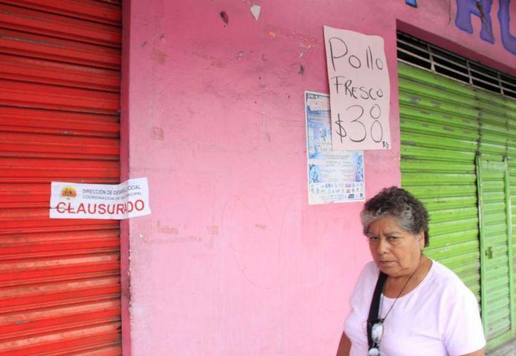Suman 20 los establecimientos clausurados en la capital. (Juan Palma/SIPSE)