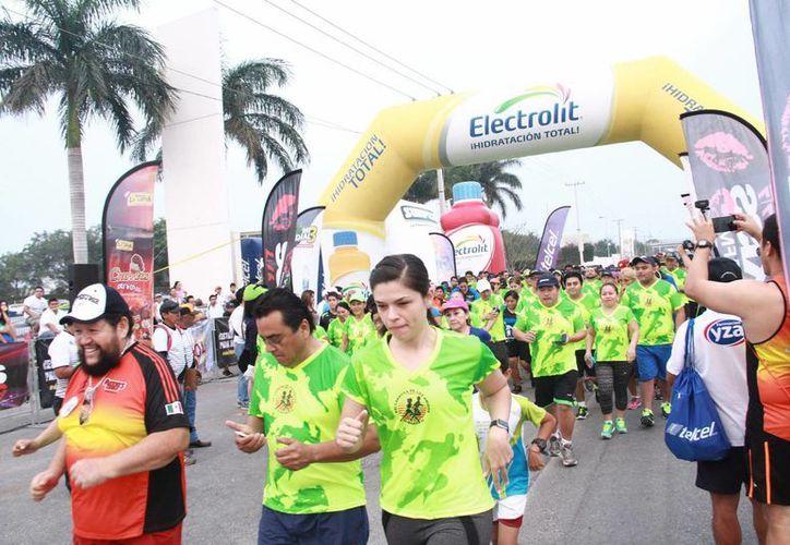 En el evento participaron unos mil 500 competidores. (Jorge Acosta/Milenio Novedades)