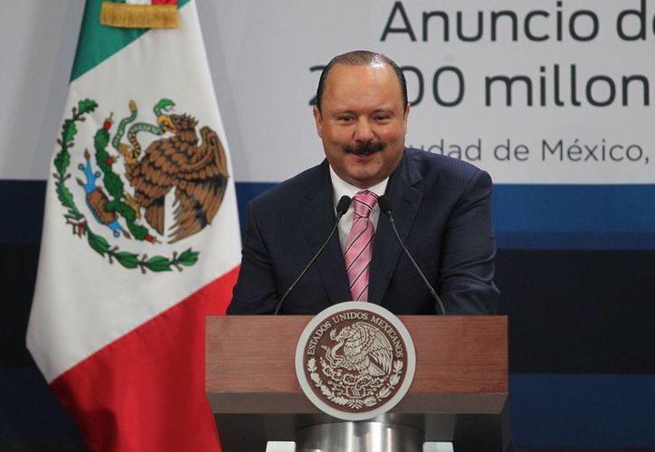 El gobernador de Chihuahua, César Duarte, fue dado de alta este sábado tras haber sido operado en la columna vertebral. (Notimex)
