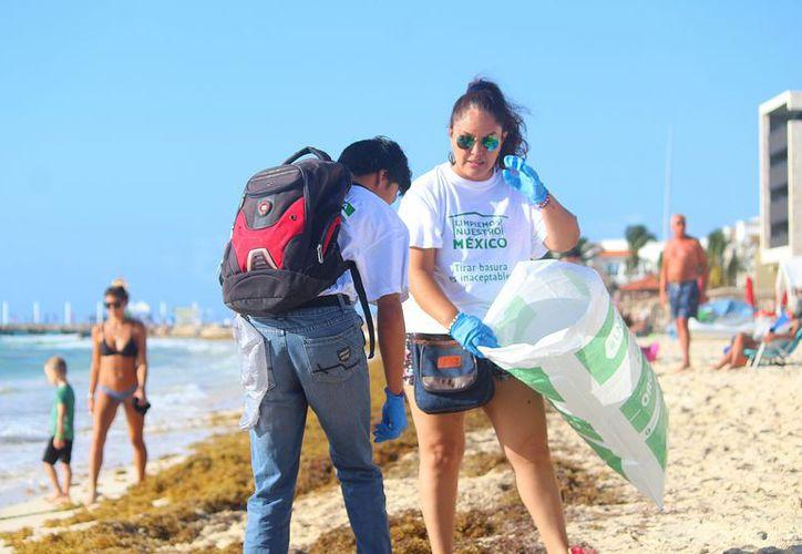 En total fueron 297 voluntarios pertenecientes a 15 diferentes agrupaciones locales. (Daniel Pacheco/SIPSE)