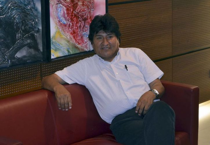 """""""Es obligación de militares y policías estar físicamente preparados, intelectualmente formados"""", afirmó Evo Morales, presidente de Bolivia. (Archivo/Agencias)"""