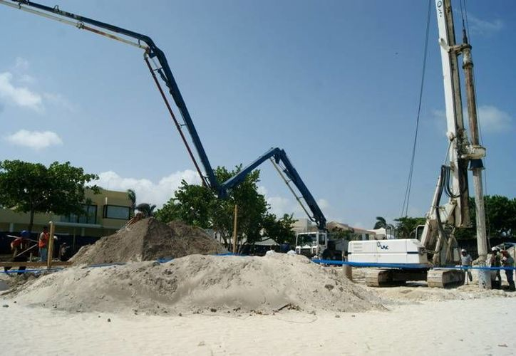 La propiedad se ubica en la costa, incluso parte de la misma ya es zona federal. (Adrián Barreto/SIPSE)