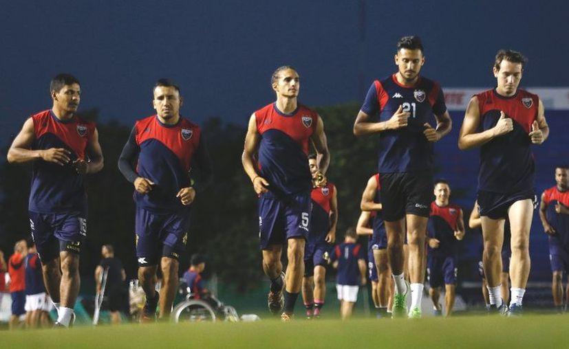 Atlante se prepara para su pretemporada de cara al Clausura 2019 del Ascenso MX. (Ángel Villegas/SIPSE)