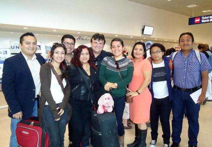 Delegación yucateca que promociona la Filey en Guadalajara, Jalisco. (Milenio Novedades)