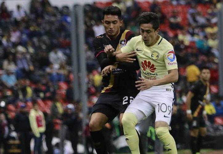 América ganó 1-0 a Coras Tepic en partido de la fase de grupos de la Copa MX. (futboltotal.com.mx)