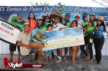 """Finaliza el Torneo de Pesca Deportiva """"Don Andrés García Lavín"""""""