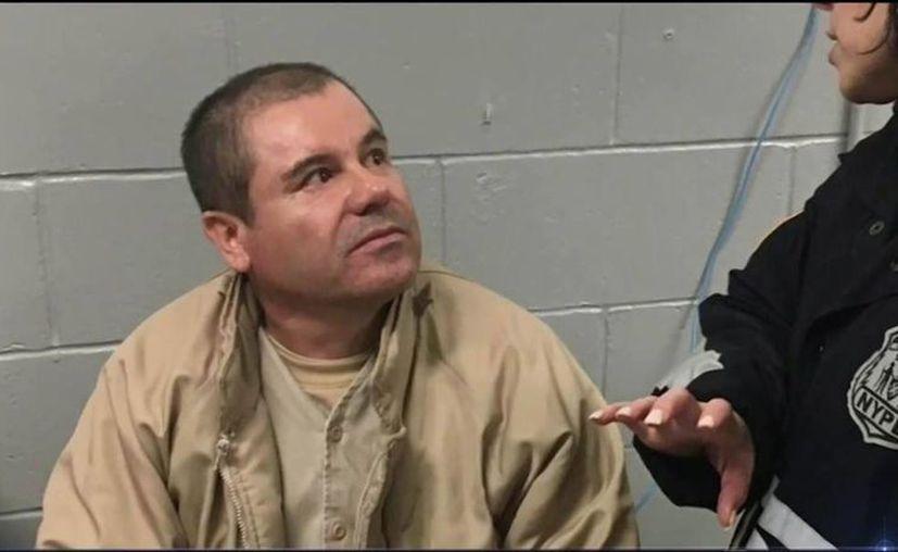 Joaquín Guzmán Loera tendrá su próxima audiencia el 5 de mayo, mientras tanto está recluido en una unidad especial del Metropolitan Correctional Center. (twitter.com/ElNacionalWeb)
