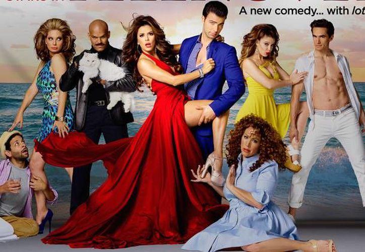 Poster de la serie de comedia de la cadena NBC llamada Telenovela y protagonizada por Eva Longoria. (Foto de tvline.com tomada de NBC)
