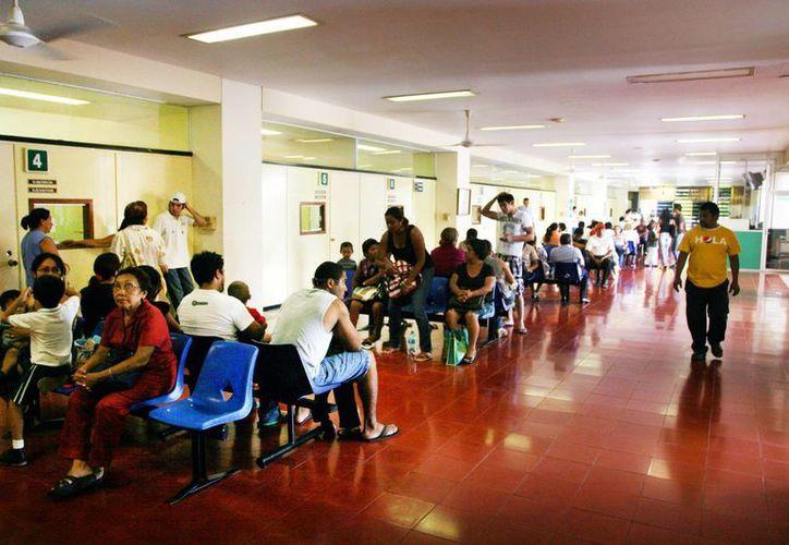 El Instituto Mexicano del Seguro Social desarrolla en Yucatán varios proyectos para una mejor atención. (Milenio Novedades)