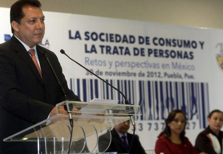 El presidente de la Comisión Nacional de los Derechos Humanos, Raúl Plascencia Villanueva. (Archivo/Notimex)